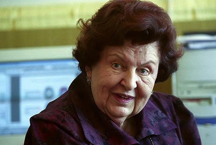Наталья Бехтерева в старости