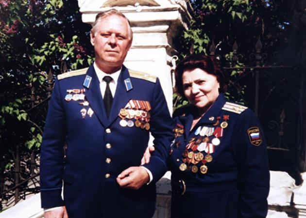 Со вторым мужем Борисом