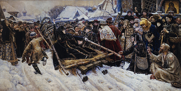 «Боярыня Морозова». Картина В.И. Сурикова