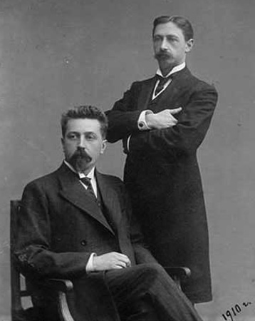 Николай Телешов и Иван Бунин (1910)