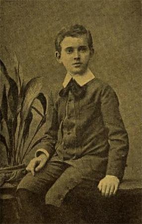 Януш Корчак в детстве (1888)