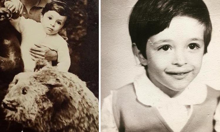 Ровшан Аскеров в детстве