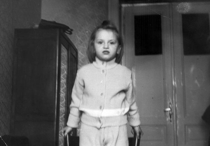Наталия Гулькина в детстве