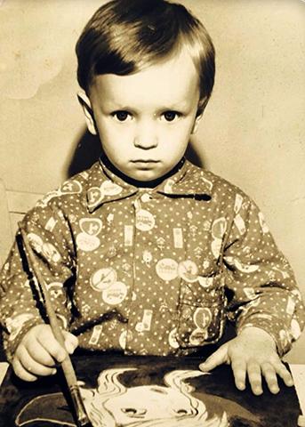 Сергей Жарков в детстве