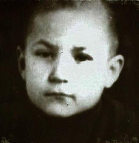 Николай Губенко в детстве