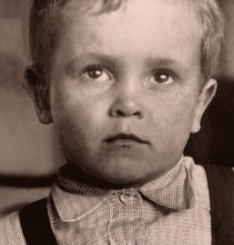 Глеб Панфилов в детстве