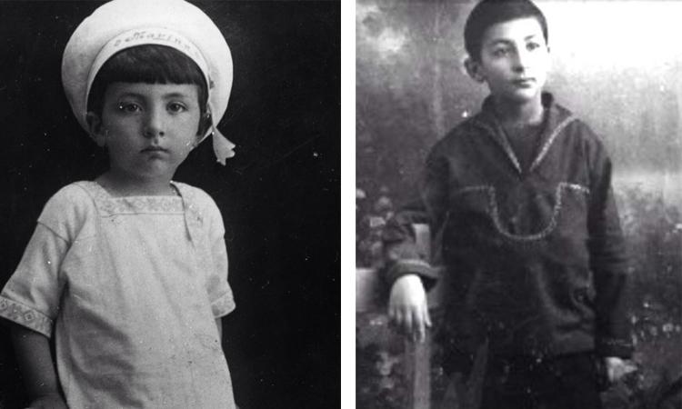Георгий Товстоногов в детстве