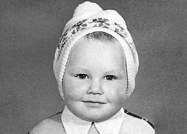 Виктор Васильев в детстве