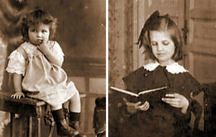 Тамара Макарова в детстве
