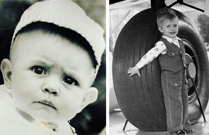 Роман Костомаров в детстве