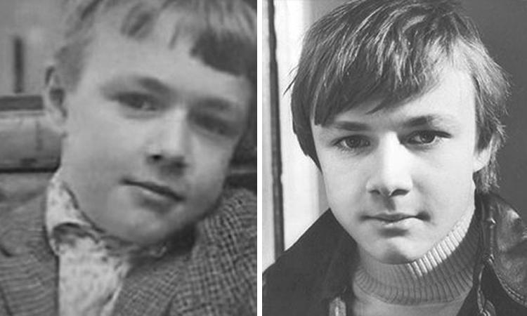 Владимир Шевельков в детстве