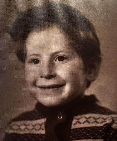 Михаил Лабковский в детстве