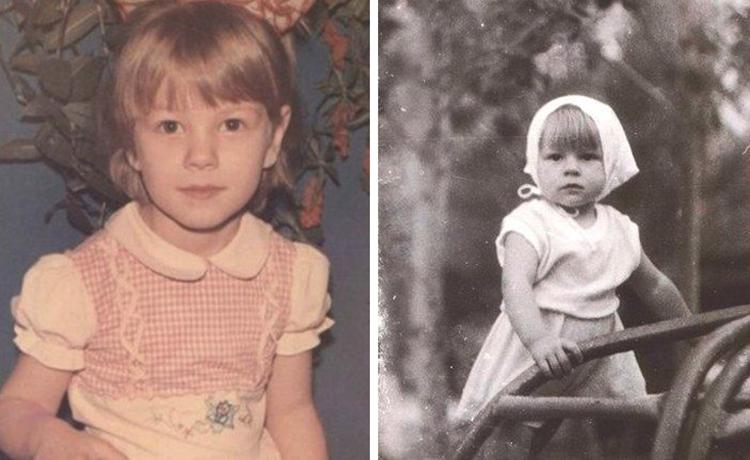 Олеся Фаттахова в детстве