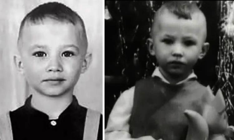 Юрий Гальцев в детстве