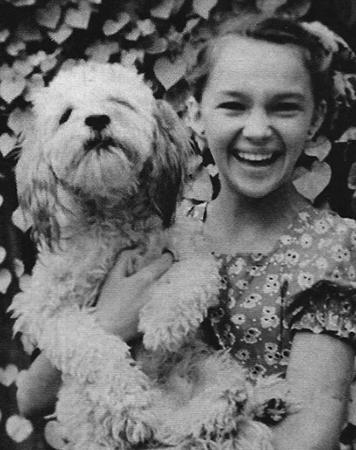 Наталья Гвоздикова в детстве