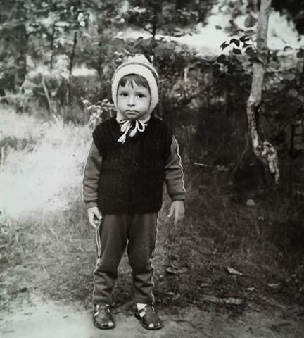 Максим Лагашкин в детстве