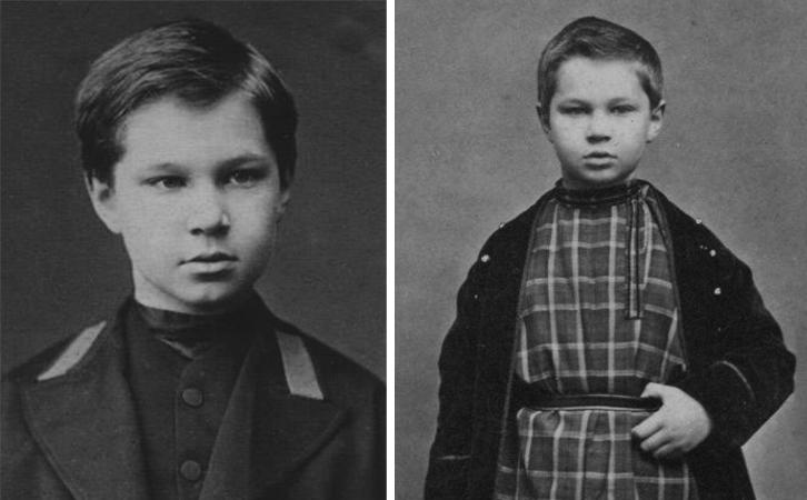 Сергей Танеев в детстве