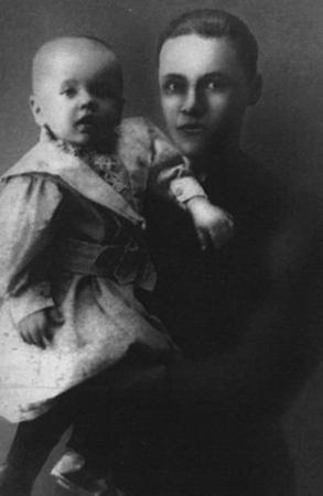 Леонид Леонов с отцом