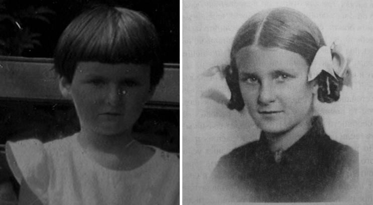 Наталья Бехтерева в детстве