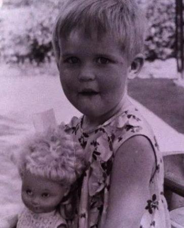 Татьяна Лазарева в детстве