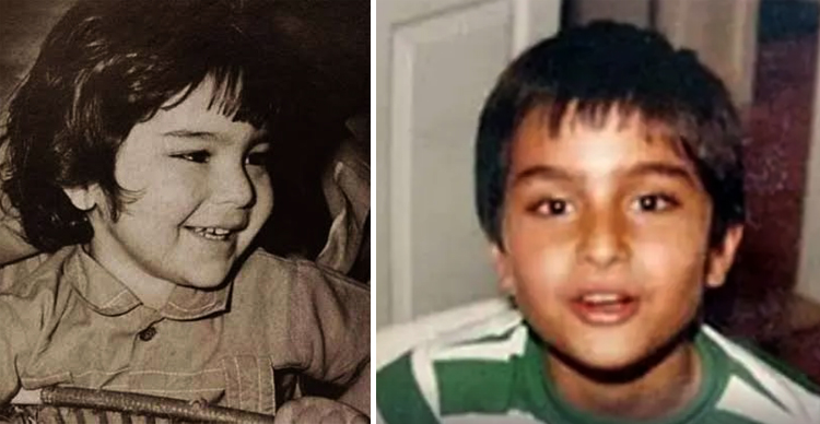Саиф Али Хан в детстве