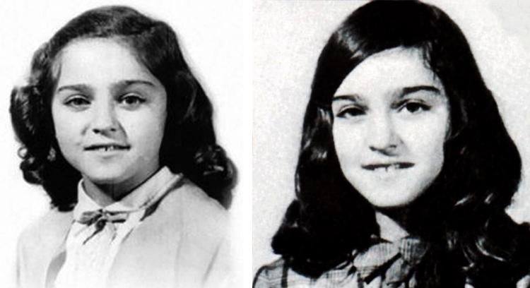Мадонна в детстве и юности