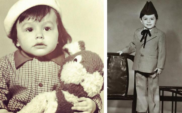 Тимур Родригез в детстве
