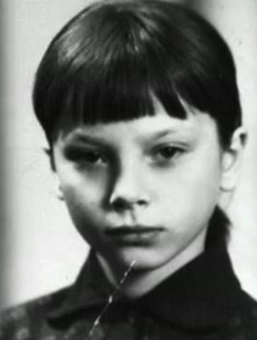 Галина Беляева в детстве