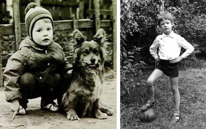 Андрей Данилко в детстве