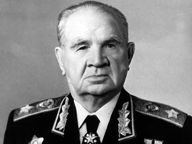 Василий Чуйков в старости