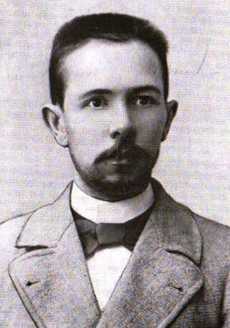 Василий Калинников в молодости