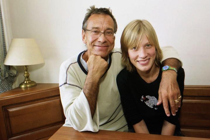 Андрей Кончаловский с дочерью Дарьей