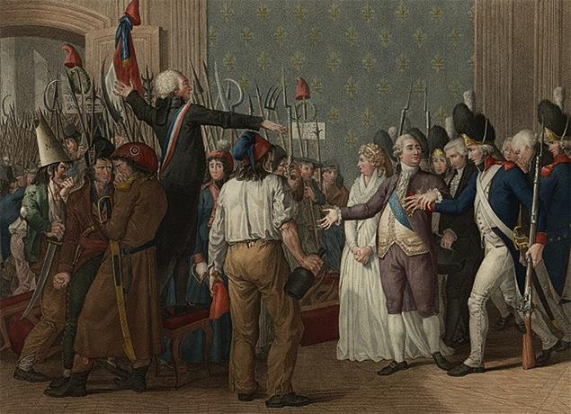 Демонстрация 20 июня 1792 г.