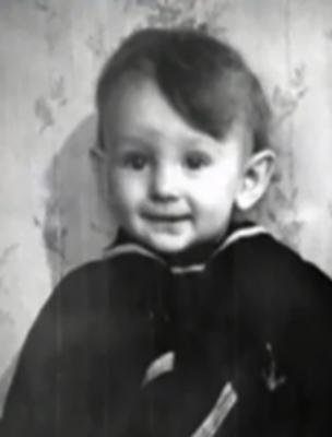 Сергей Беликов в детстве