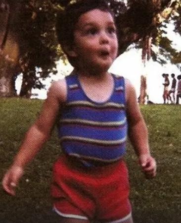 Грегори Лемаршаль в детстве