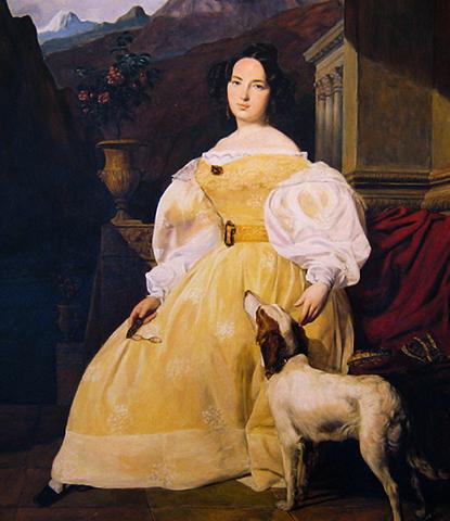 Эвелина Ганская (1835)