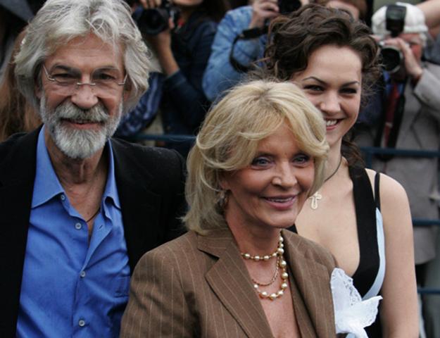 С Марианной Вертинской и дочерью Дарьей