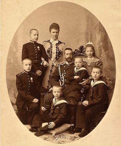 С семьей (1901)