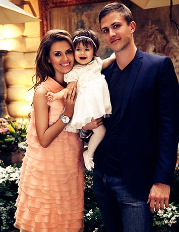 С Алексом Смерфитом и дочерью