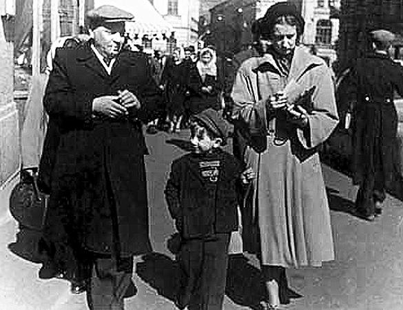 Со второй женой Изольдой и сыном Алексеем