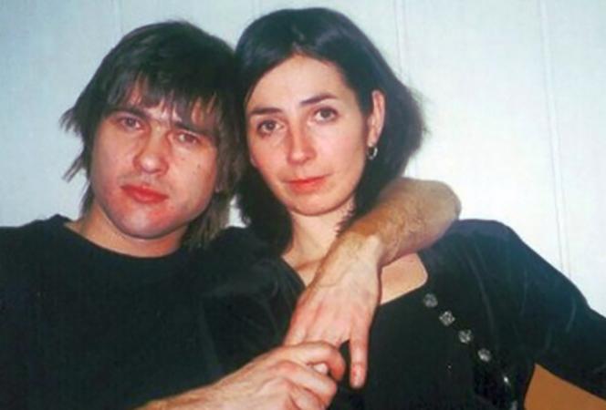 С первой женой Александрой