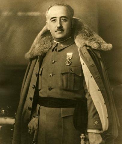 Франсиско Франко в 1930 г.