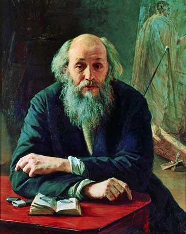 Николай Николаевич Ге. Портрет 1890 г.