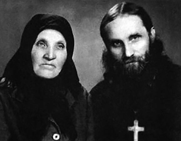 Николай Гурьянов и Екатерина Степановна