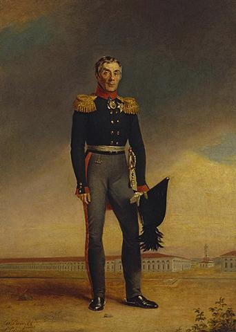 Портрет Алексея Аракчеева (худ. Джордж Доу, 1823)