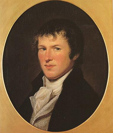 Гумбольдт, изображенный американским художником Ч.У. Пилом, который встретил Гумбольдта во время его визита в США в 1804 г.