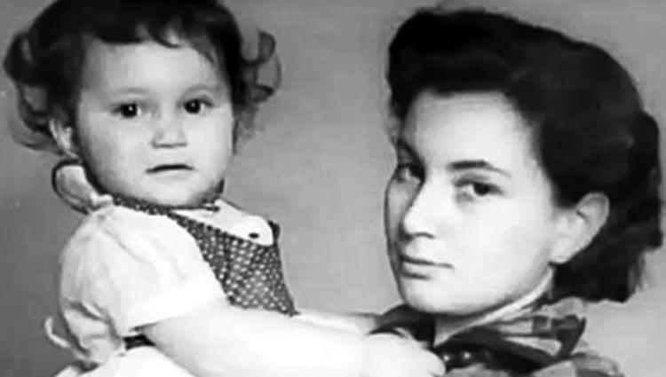 Первая жена Ирина с дочерью Светланой