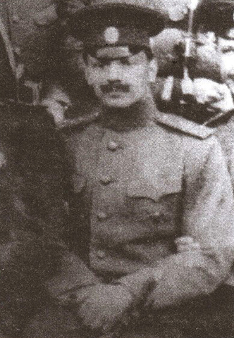 Владимир Каппель во время учебы в военной академии (1913 г.)