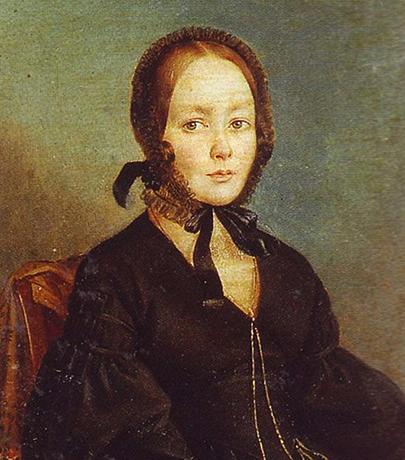 Анна Керн (предполагаемый портрет)
