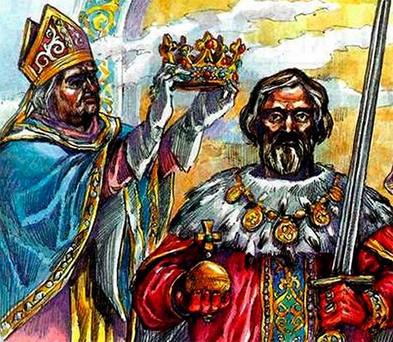 Даниил Галицкий принимает княжество